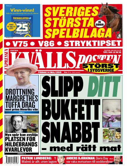 Kvällsposten May 14, 2019 00:00