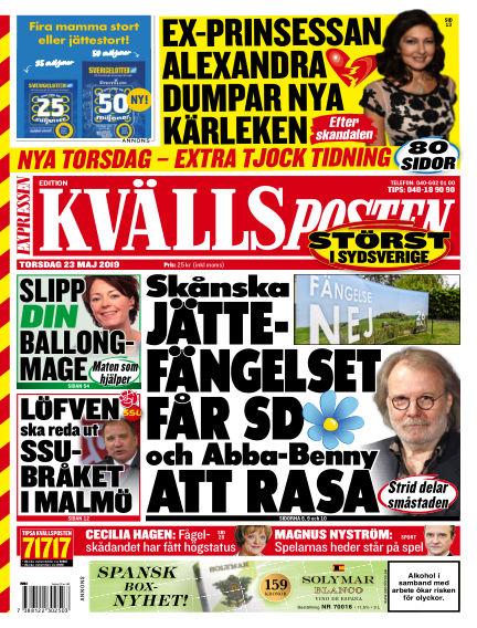 Kvällsposten May 23, 2019 00:00