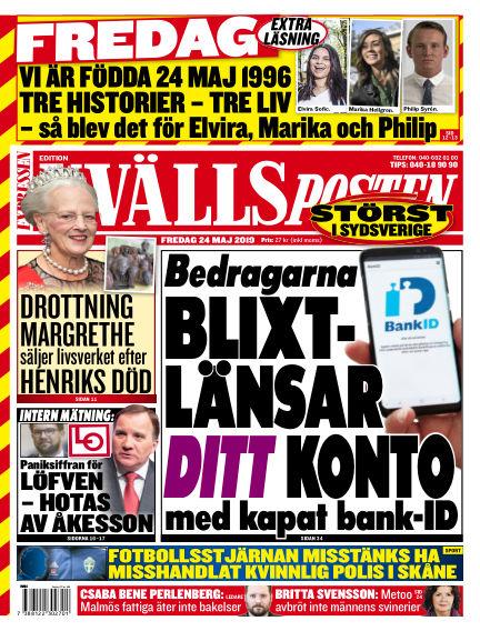 Kvällsposten May 24, 2019 00:00