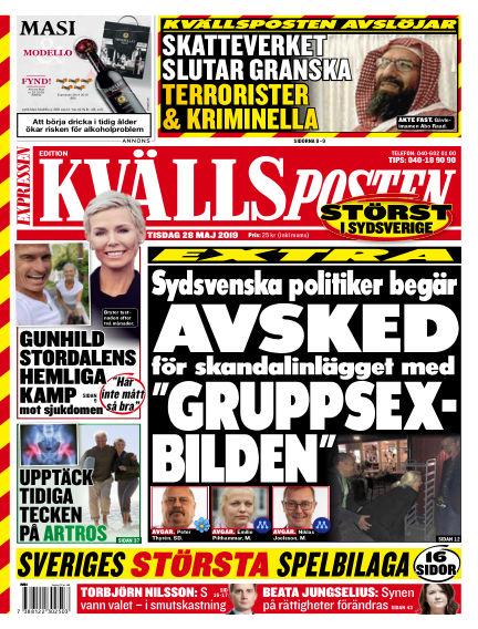 Kvällsposten May 28, 2019 00:00