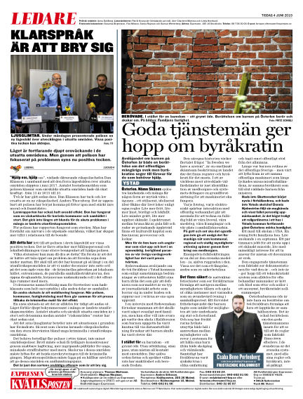 Kvällsposten June 04, 2019 00:00