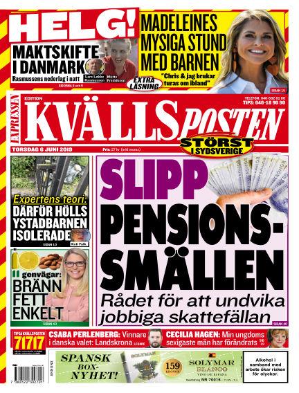 Kvällsposten June 06, 2019 00:00