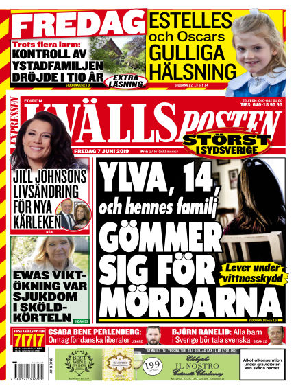 Kvällsposten June 07, 2019 00:00