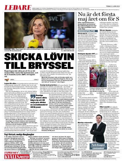 Kvällsposten June 11, 2019 00:00