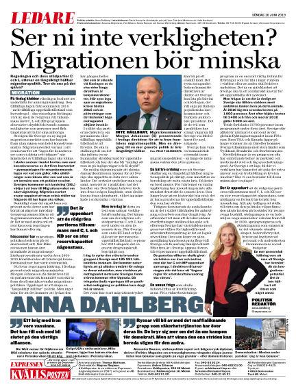Kvällsposten June 16, 2019 00:00