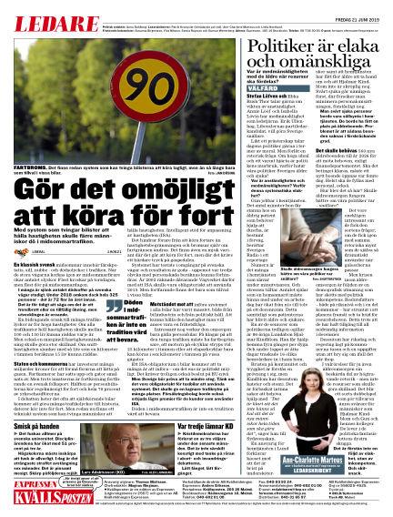 Kvällsposten June 21, 2019 00:00