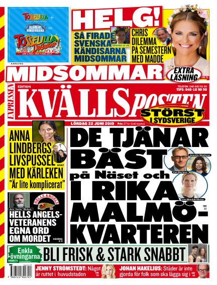 Kvällsposten June 22, 2019 00:00