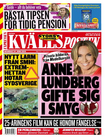 Kvällsposten June 24, 2019 00:00