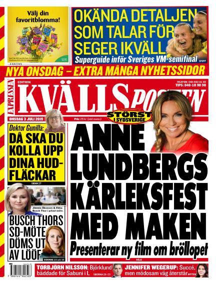 Kvällsposten July 03, 2019 00:00