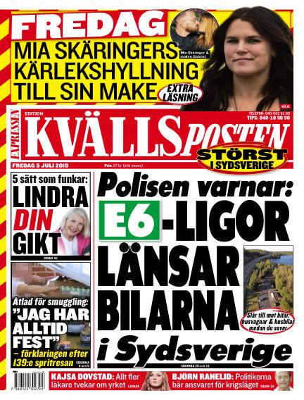 Kvällsposten July 05, 2019 00:00