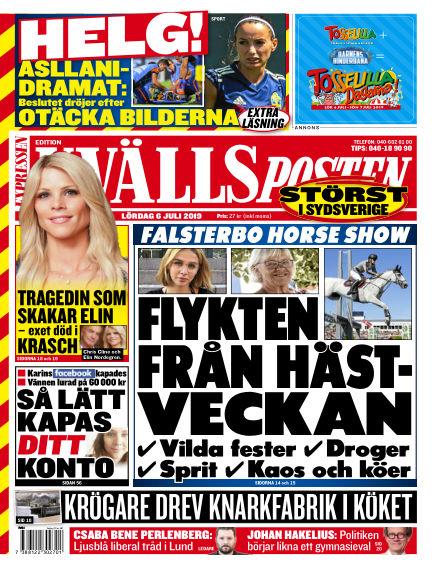 Kvällsposten July 06, 2019 00:00