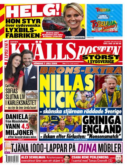 Kvällsposten July 07, 2019 00:00
