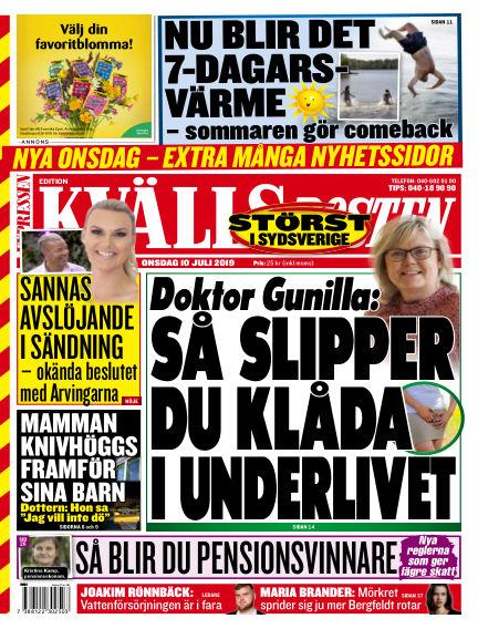 Kvällsposten July 10, 2019 00:00