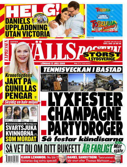 Kvällsposten July 13, 2019 00:00