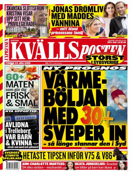 Kvällsposten July 23, 2019 00:00