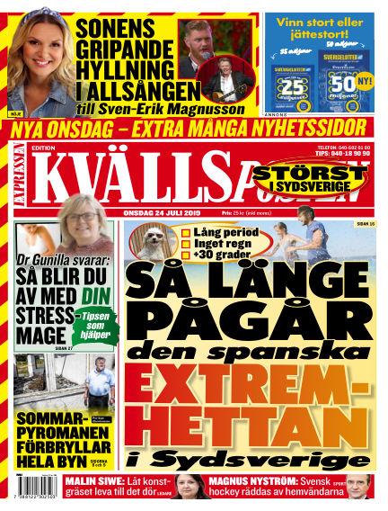 Kvällsposten July 24, 2019 00:00