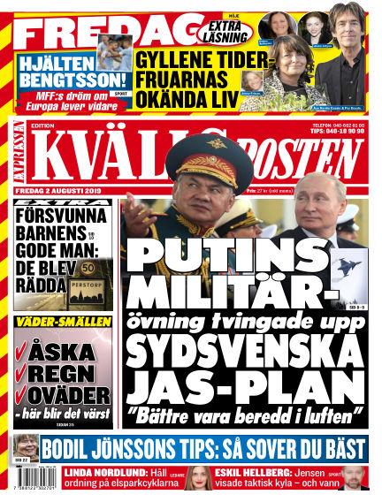 Kvällsposten August 02, 2019 00:00