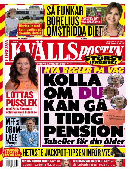 Kvällsposten August 06, 2019 00:00
