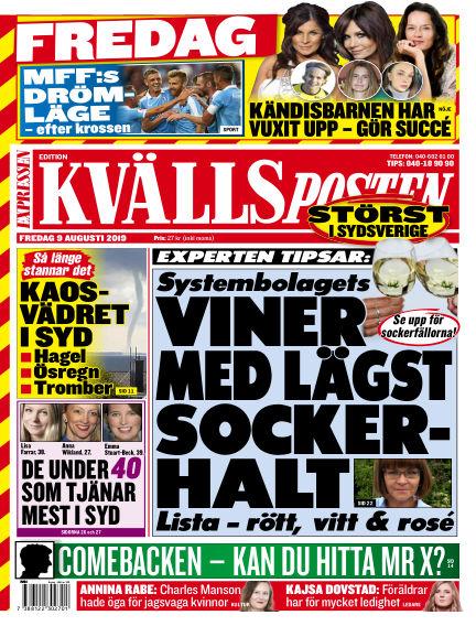Kvällsposten August 09, 2019 00:00
