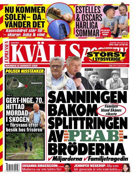 Kvällsposten August 12, 2019 00:00