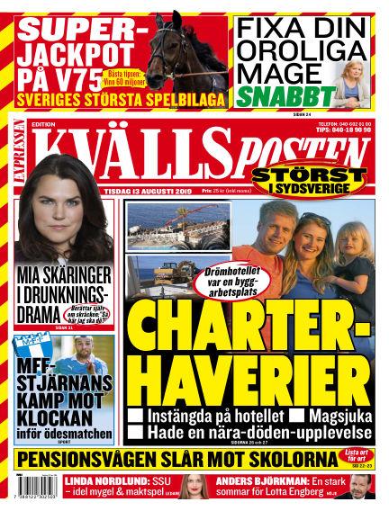 Kvällsposten August 13, 2019 00:00