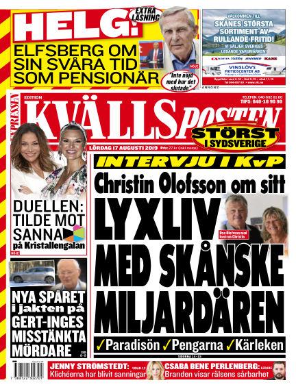 Kvällsposten August 17, 2019 00:00
