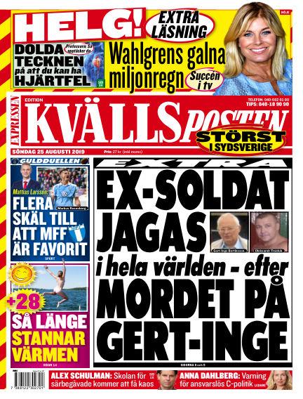 Kvällsposten August 25, 2019 00:00