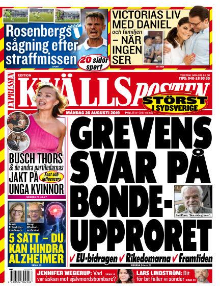 Kvällsposten August 26, 2019 00:00