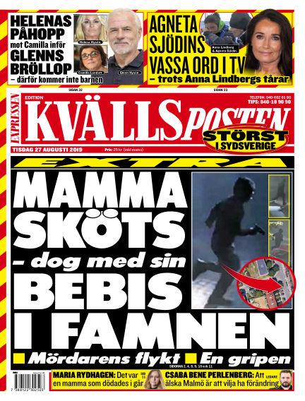 Kvällsposten August 27, 2019 00:00