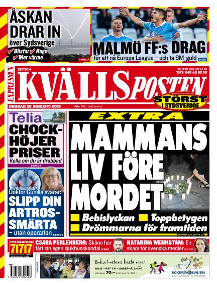 Kvällsposten August 28, 2019 00:00