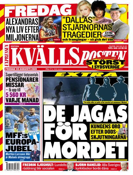 Kvällsposten August 30, 2019 00:00