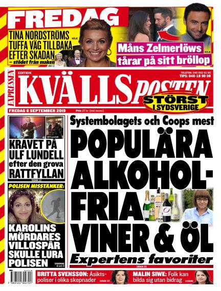 Kvällsposten September 06, 2019 00:00