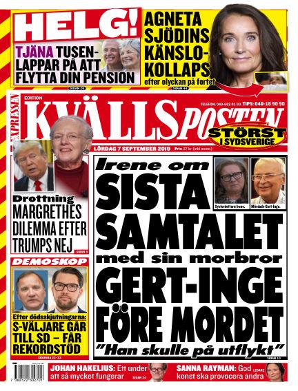 Kvällsposten September 07, 2019 00:00