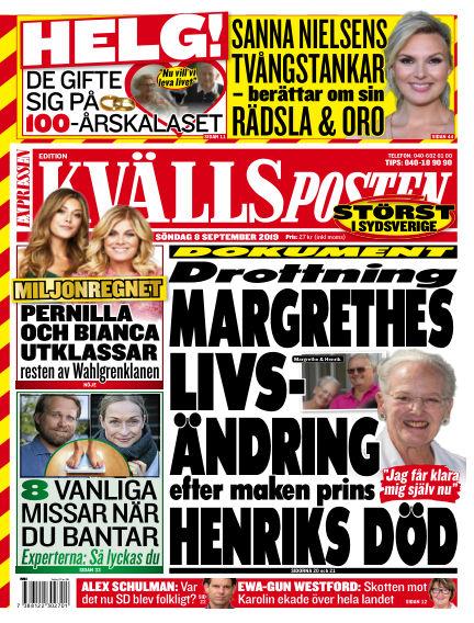 Kvällsposten September 08, 2019 00:00