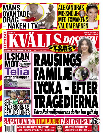 Kvällsposten September 10, 2019 00:00