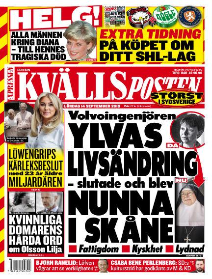 Kvällsposten September 14, 2019 00:00