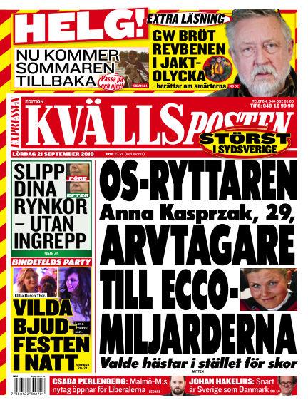 Kvällsposten September 21, 2019 00:00