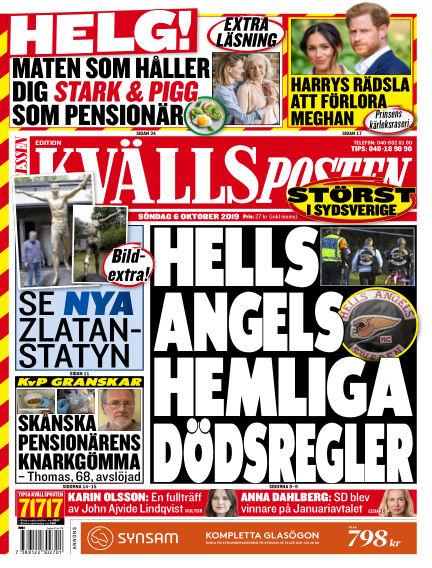 Kvällsposten October 06, 2019 00:00