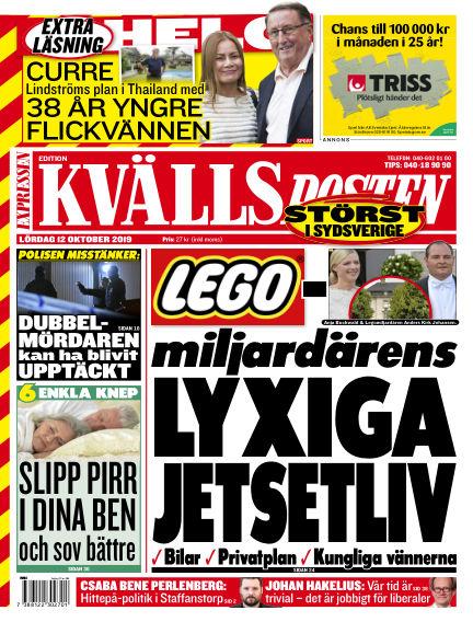 Kvällsposten October 12, 2019 00:00