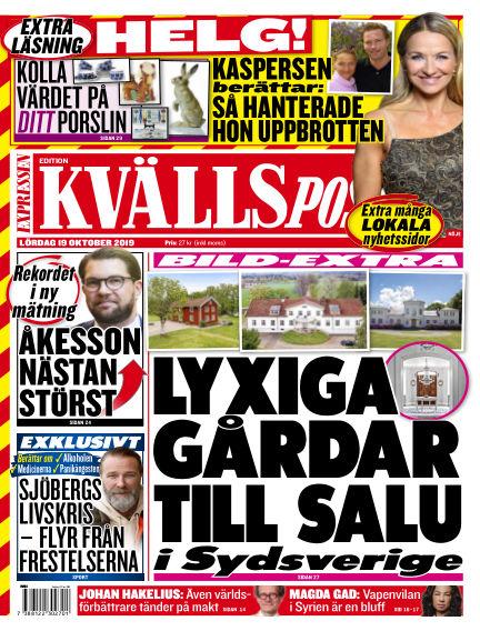 Kvällsposten October 19, 2019 00:00