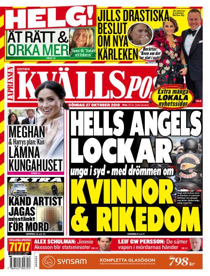 Kvällsposten October 27, 2019 00:00
