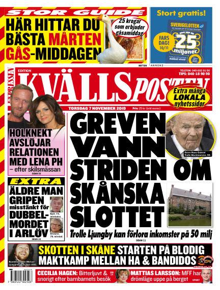 Kvällsposten November 07, 2019 00:00