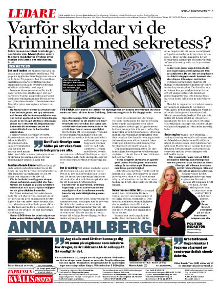 Kvällsposten November 10, 2019 00:00