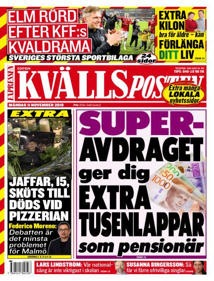 Kvällsposten November 11, 2019 00:00