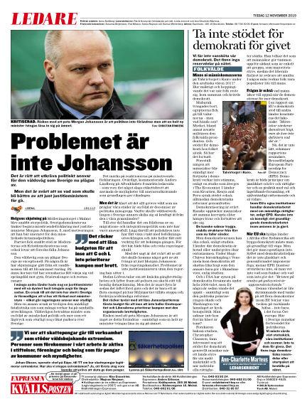 Kvällsposten November 12, 2019 00:00