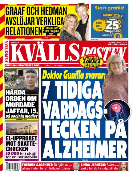 Kvällsposten November 13, 2019 00:00