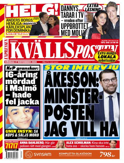 Kvällsposten November 17, 2019 00:00