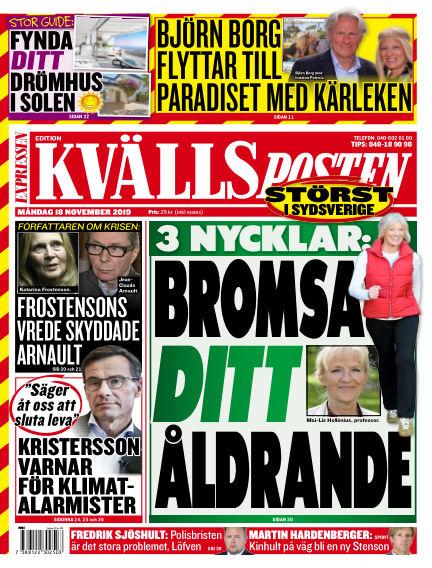 Kvällsposten November 18, 2019 00:00