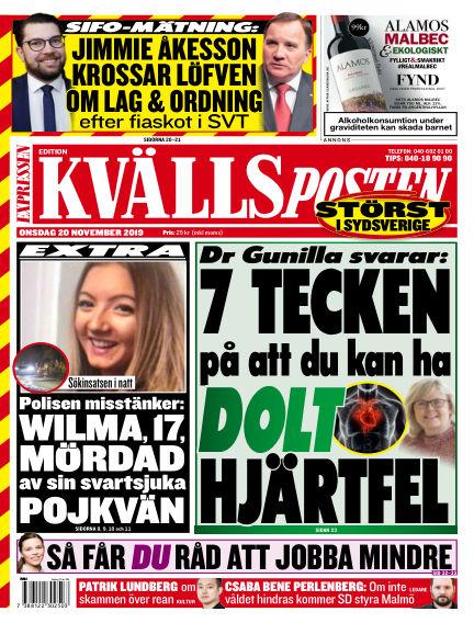 Kvällsposten November 20, 2019 00:00