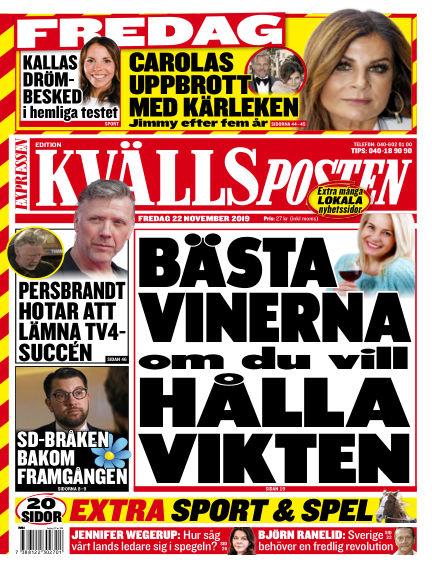Kvällsposten November 22, 2019 00:00
